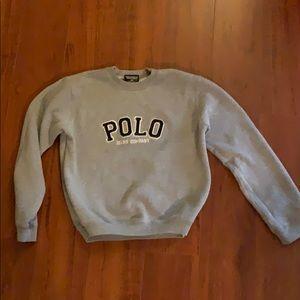 Polo Ralph Lauren Gray Sweatshirt Kid Boys Size S